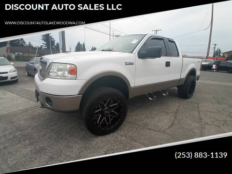 2006 Ford F-150 for sale at DISCOUNT AUTO SALES LLC in Spanaway WA