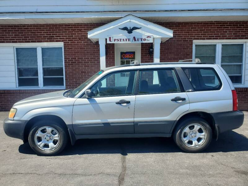 2004 Subaru Forester for sale at UPSTATE AUTO INC in Germantown NY