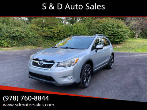2013 Subaru XV Crosstrek for sale at S & D Auto Sales in Maynard MA