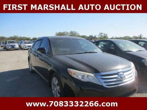 2012 Toyota Avalon for sale at First Marshall Auto Auction in Harvey IL