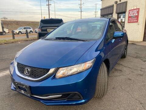 2014 Honda Civic for sale at Luxury Unlimited Auto Sales Inc. in Trevose PA