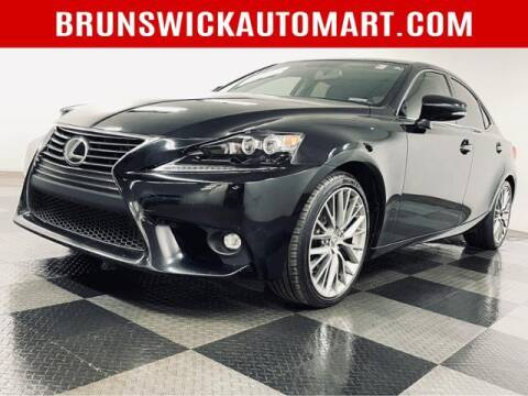 2015 Lexus IS 250 for sale at Brunswick Auto Mart in Brunswick OH