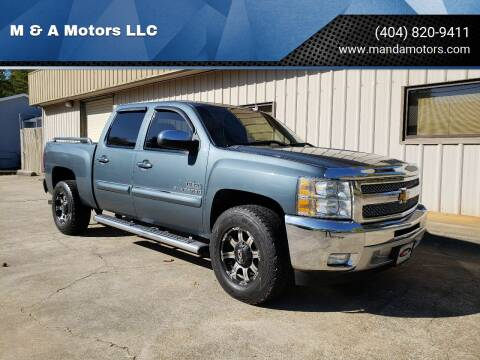 2012 Chevrolet Silverado 1500 for sale at M & A Motors LLC in Marietta GA
