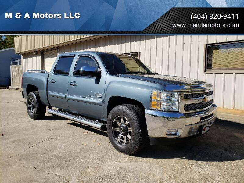 2012 Chevrolet Silverado 1500 for sale at M & A Motors LLC in Marietta GA