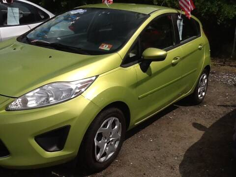 2012 Ford Fiesta for sale at Lance Motors in Monroe Township NJ