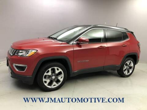 2020 Jeep Compass for sale at J & M Automotive in Naugatuck CT