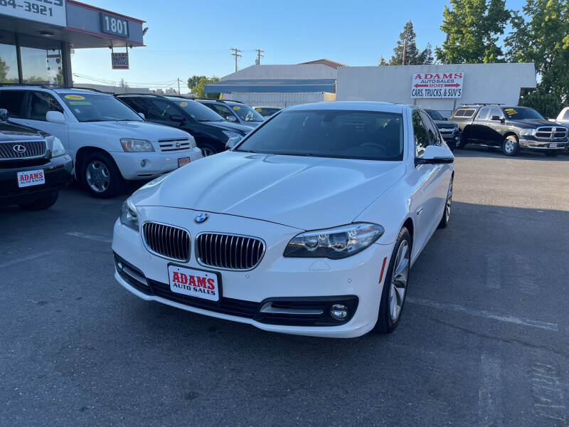 2015 BMW 5 Series for sale at Adams Auto Sales in Sacramento CA