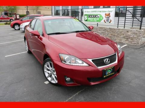 2012 Lexus IS 250 for sale at AUTO POINT USED CARS in Rosedale MD