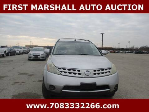 2006 Nissan Murano for sale at First Marshall Auto Auction in Harvey IL