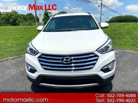 2016 Hyundai Santa Fe for sale at Motor Max Llc in Louisville KY