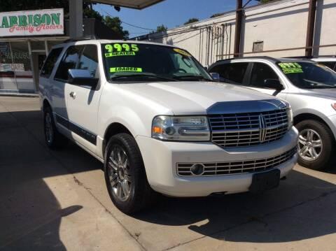 2009 Lincoln Navigator for sale at Harrison Family Motors in Topeka KS