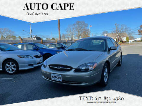 2000 Ford Taurus for sale at Auto Cape in Hyannis MA