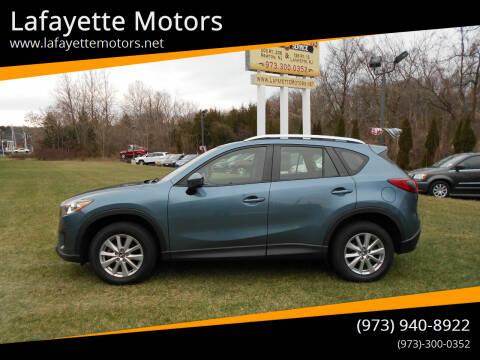 2014 Mazda CX-5 for sale at Lafayette Motors 2 in Andover NJ