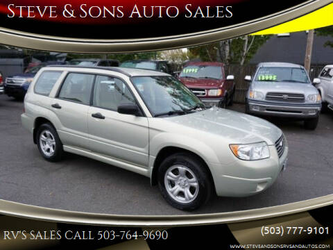 2006 Subaru Forester for sale at Steve & Sons Auto Sales in Happy Valley OR