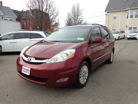 2009 Toyota Sienna for sale at FRIAS AUTO SALES LLC in Lawrence MA