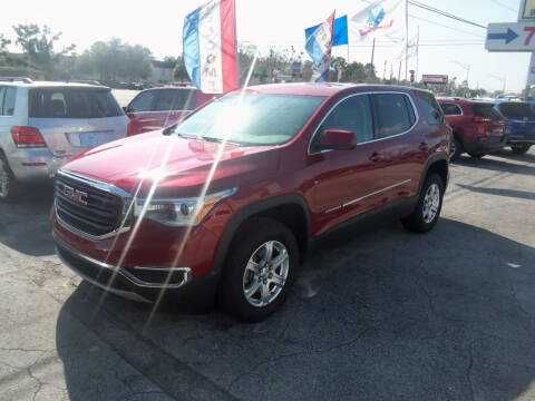 2019 GMC Acadia for sale at ORANGE PARK AUTO in Jacksonville FL