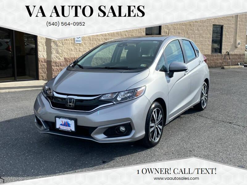 2019 Honda Fit for sale at Va Auto Sales in Harrisonburg VA