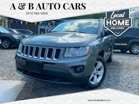 2012 Jeep Compass for sale at A & B Auto Cars in Newark NJ