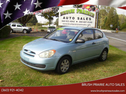 2008 Hyundai Accent for sale at Brush Prairie Auto Sales in Battle Ground WA