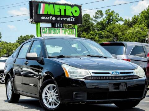 2011 Ford Focus for sale at Metro Auto Credit in Smyrna GA