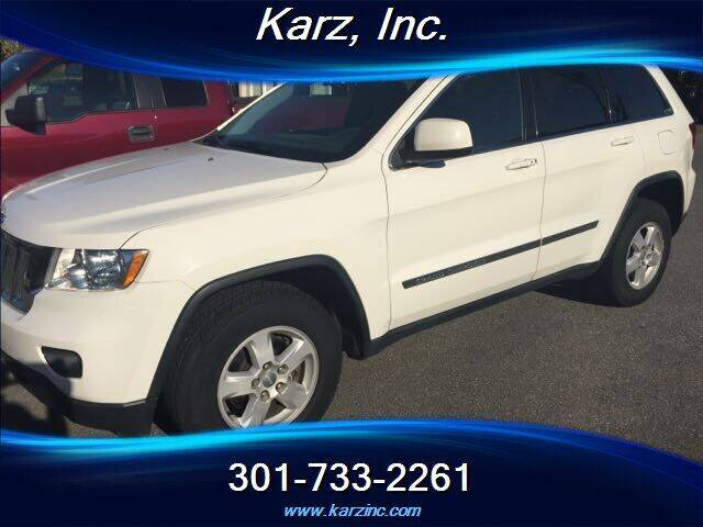 2011 Jeep Grand Cherokee for sale at Karz INC in Funkstown MD