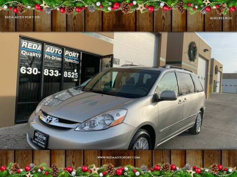2008 Toyota Sienna for sale at REDA AUTO PORT INC in Villa Park IL