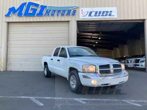 2007 Dodge Dakota for sale at MGI Motors in Sacramento CA
