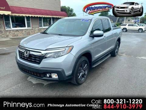 2017 Honda Ridgeline for sale at Phinney's Automotive Center in Clayton NY