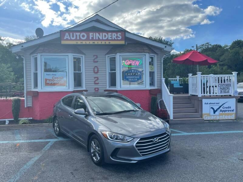 2018 Hyundai Elantra for sale at Auto Finders Unlimited LLC in Vineland NJ