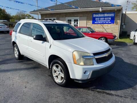 2005 Chevrolet Equinox for sale at Brucken Motors in Evansville IN
