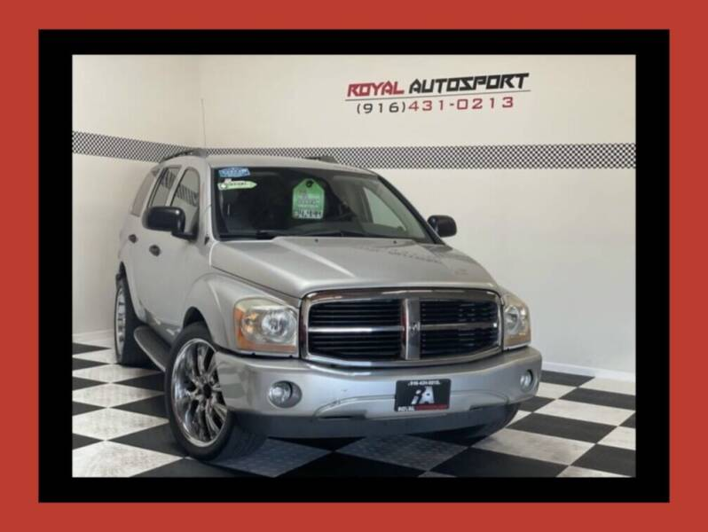 2004 Dodge Durango for sale at Royal AutoSport in Sacramento CA