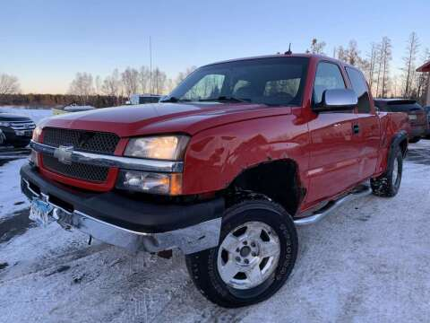 2003 Chevrolet Silverado 1500 for sale at LUXURY IMPORTS in Hermantown MN