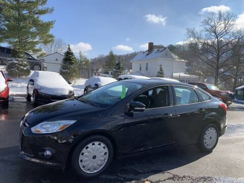 2012 Ford Focus for sale at Premiere Auto Sales in Washington PA
