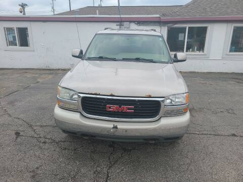 2004 GMC Yukon for sale at All State Auto Sales, INC in Kentwood MI