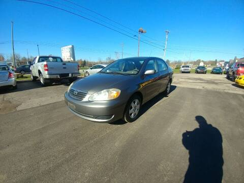 2005 Toyota Corolla for sale at RIDE NOW AUTO SALES INC in Medina OH