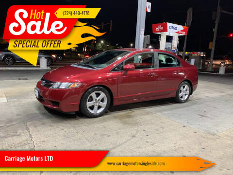 2010 Honda Civic for sale at Carriage Motors LTD in Ingleside IL