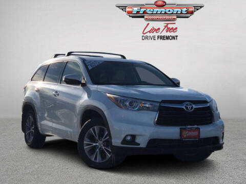 2015 Toyota Highlander for sale at Rocky Mountain Commercial Trucks in Casper WY