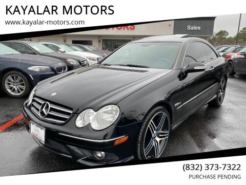 2009 Mercedes-Benz CLK for sale at KAYALAR MOTORS in Houston TX