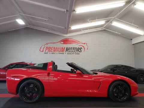 2005 Chevrolet Corvette for sale at Premium Motors in Villa Park IL