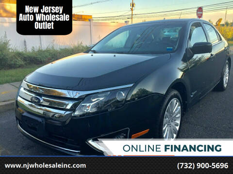 2010 Ford Fusion Hybrid for sale at New Jersey Auto Wholesale Outlet in Union Beach NJ