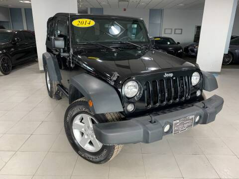 2014 Jeep Wrangler for sale at Auto Mall of Springfield in Springfield IL