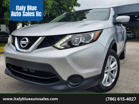2017 Nissan Rogue Sport for sale at Italy Blue Auto Sales llc in Miami FL