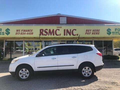 2009 Chevrolet Traverse for sale at Ron Self Motor Company in Fort Worth TX