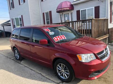 2016 Dodge Grand Caravan for sale at Kramer Motor Co INC in Shelbyville IN