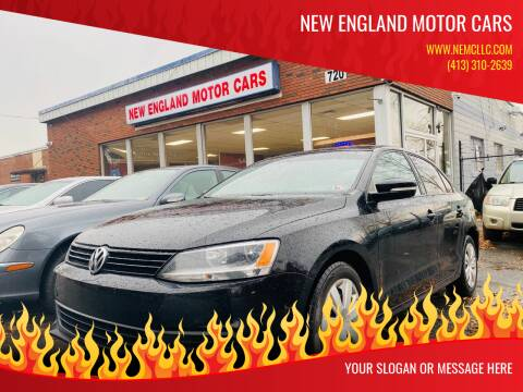 2014 Volkswagen Jetta for sale at New England Motor Cars in Springfield MA