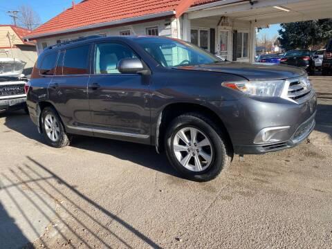 2013 Toyota Highlander for sale at STS Automotive in Denver CO