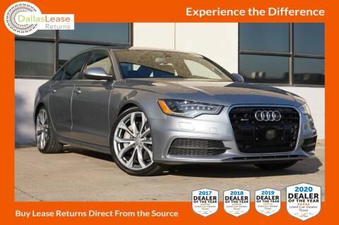 2013 Audi A6 for sale at Dallas Auto Finance in Dallas TX