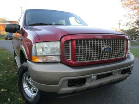 2004 Ford Excursion for sale at A+ Motors LLC in Leesburg VA