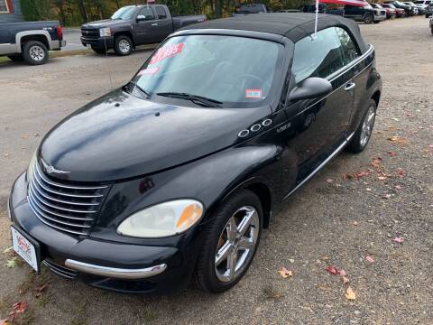 2005 Chrysler PT Cruiser for sale at Winner's Circle Auto Sales in Tilton NH