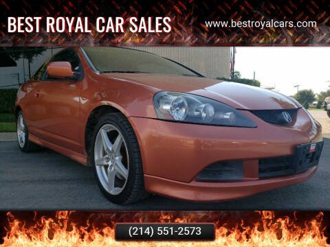 2006 Acura RSX for sale at Best Royal Car Sales in Dallas TX